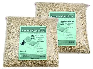 SAFFLOWER SEED LITTER - 8 LBS